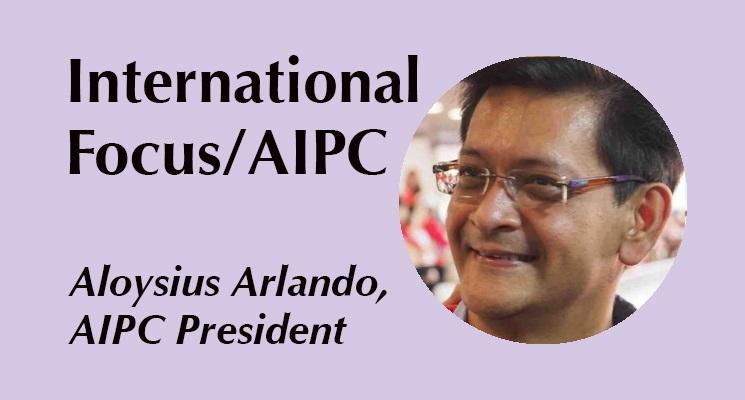 AIPC Başkanı Aloysius Arlando
