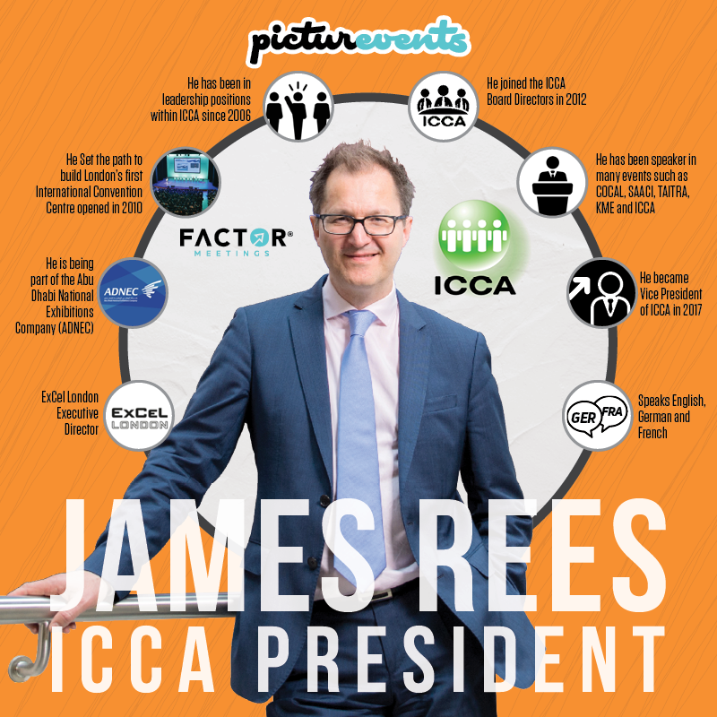 ICCA Başkanı James Rees